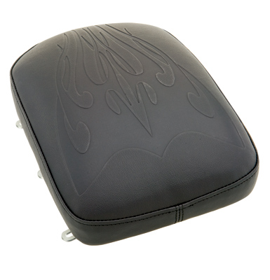 Phantom Pad Flame Tattoo Gel Passenger Pad