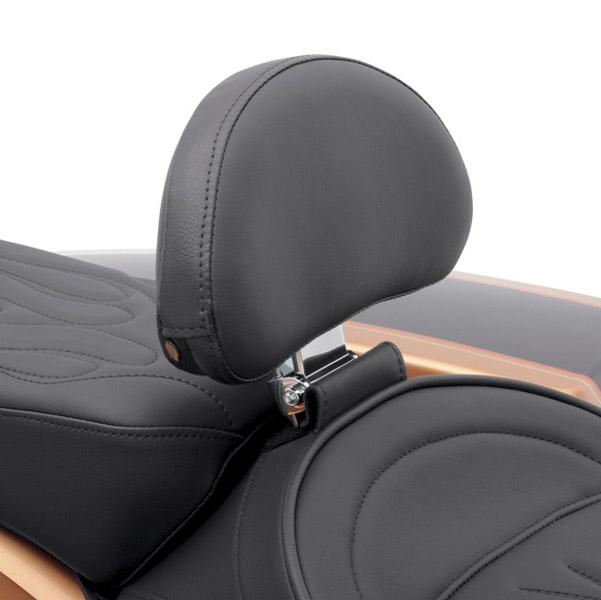 Drag Specialties EZ Glide II Small Backrest