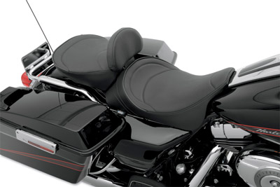 Drag Specialties Solo Front Seat with Mild Stitching