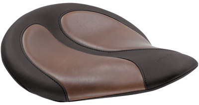 Mustang Solo Seat with Brown Distressed Insert