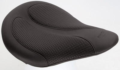 Mustang Solo Seat with Black Textured Insert