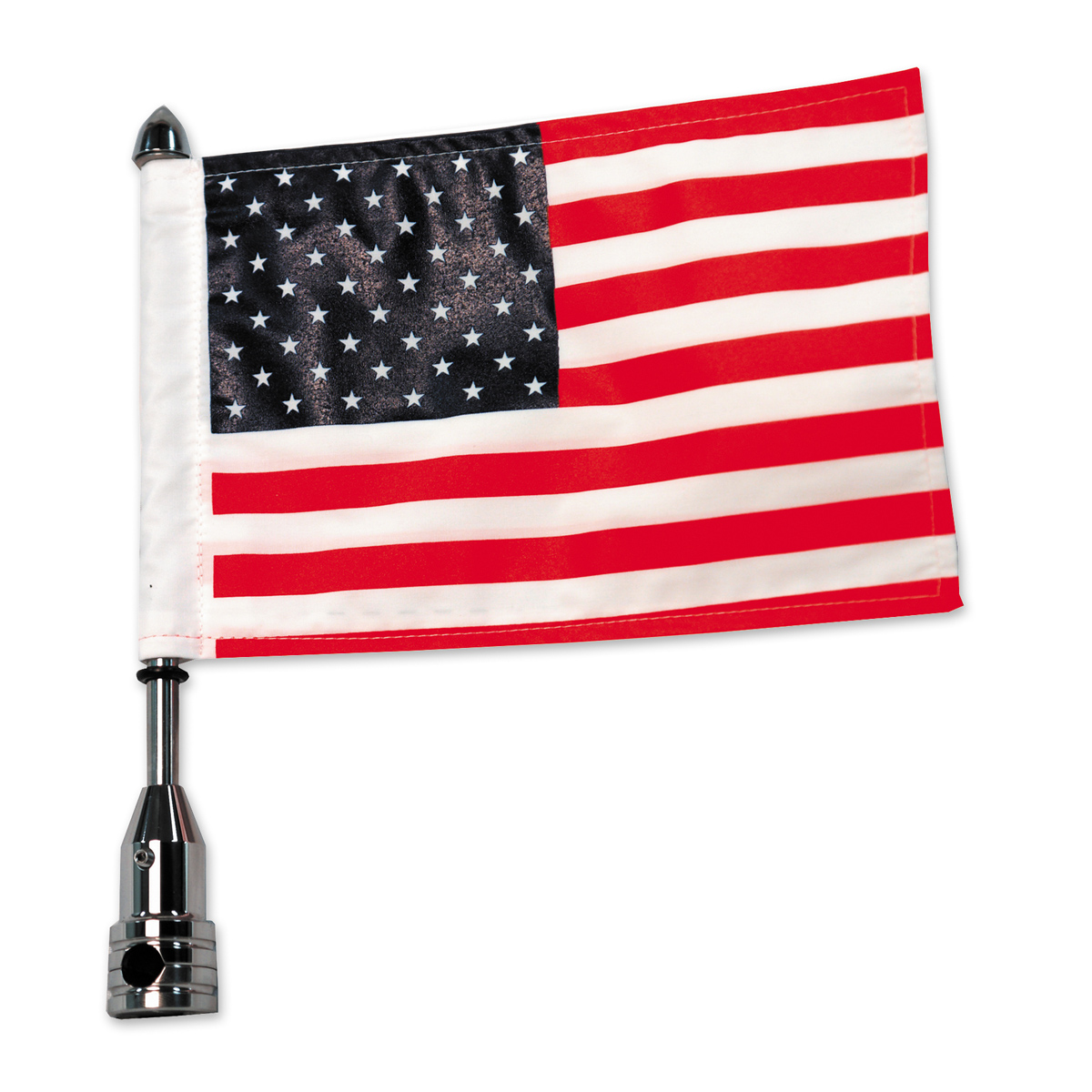 Pro Pad Tour Pack Solid Flag Mount with 10″ x 15″ American Flag