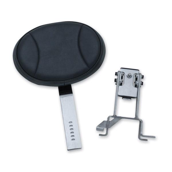 Kuryakyn Black Plug-N-Go Driver Backrest