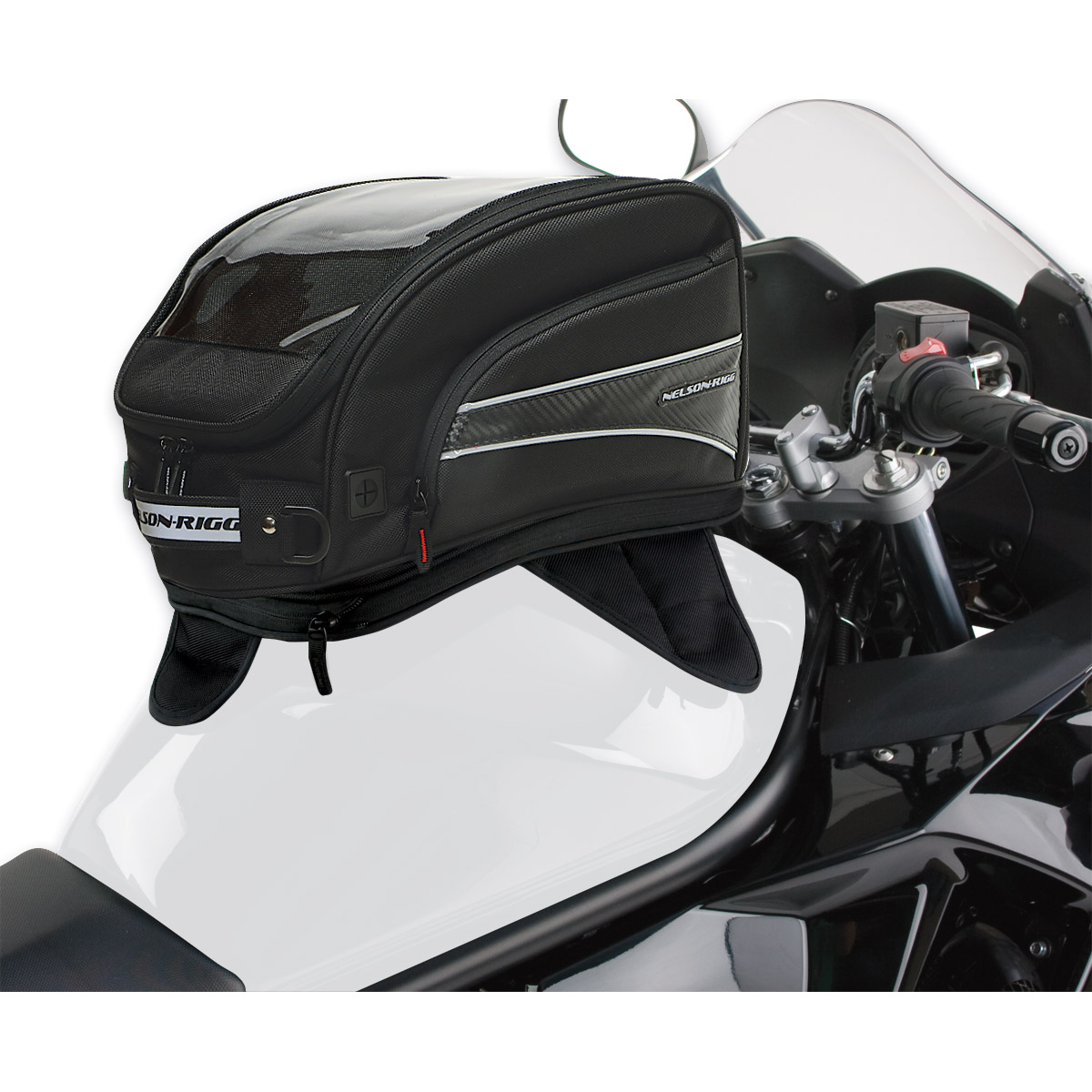 Nelson-Rigg CL-2016-MG Journey XL Tank Bag Magnetic Mount