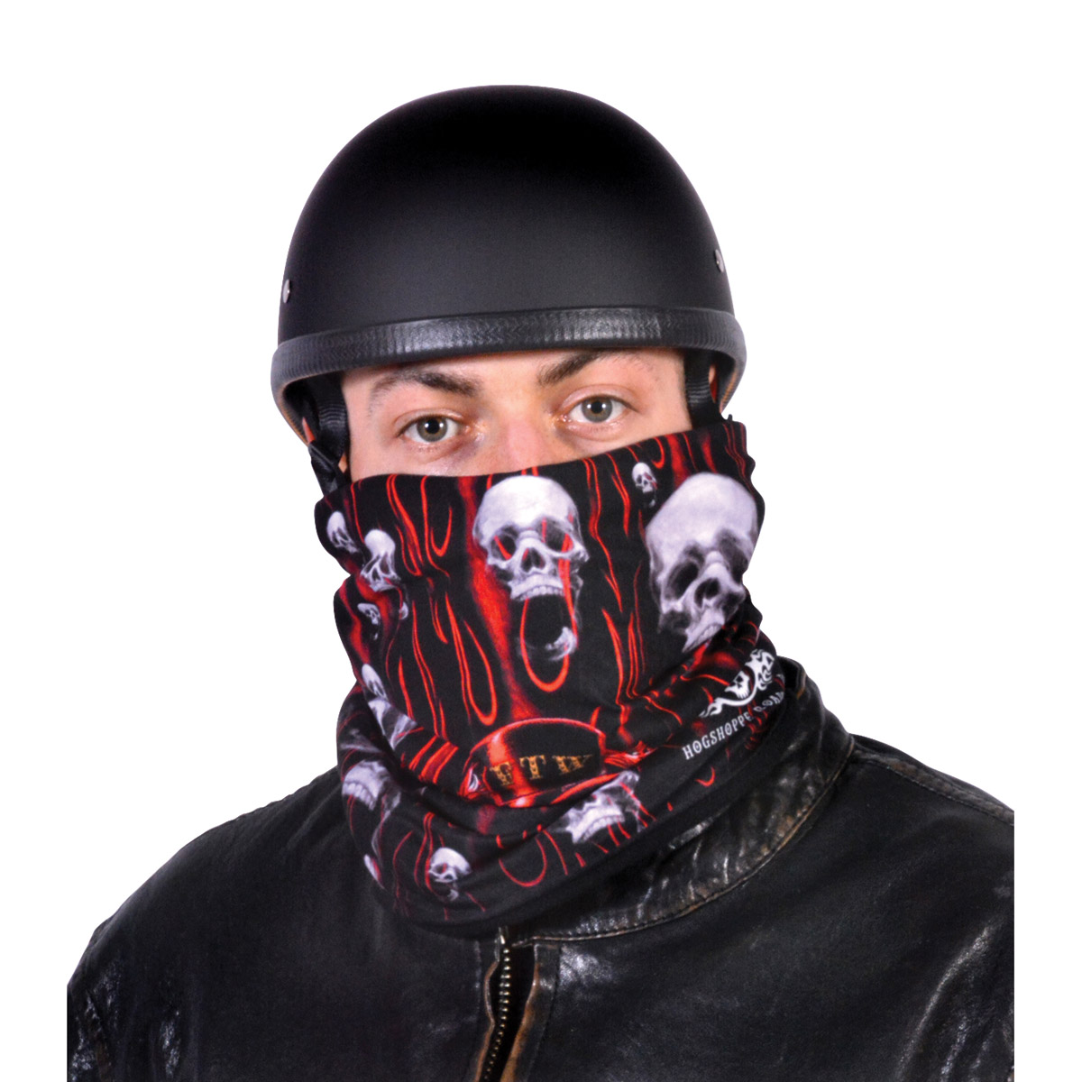 Hogshoppe FTW Skulls Fleece Lined Stretch Tube