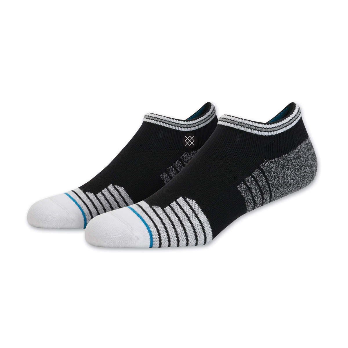 Stance Men's Guilded Low Cut Black/White Sock