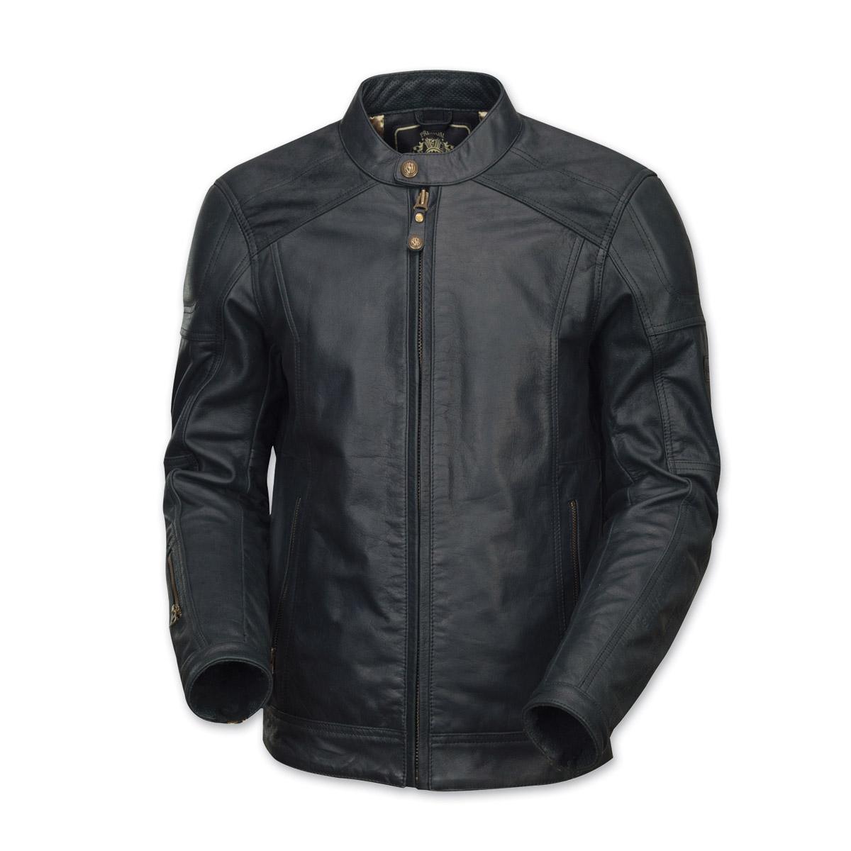 Roland Sands Design Men's Carson Black Leather Jacket