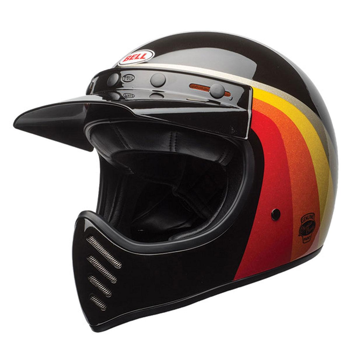 Bell Moto-3 Chemical Candy Black/Gold Full Face Helmet