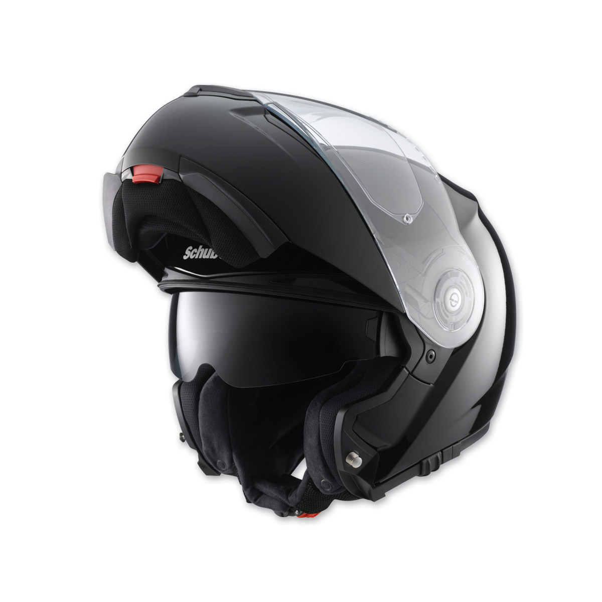 schuberth c3 pro gloss black modular helmet 804 845 j p cycles. Black Bedroom Furniture Sets. Home Design Ideas