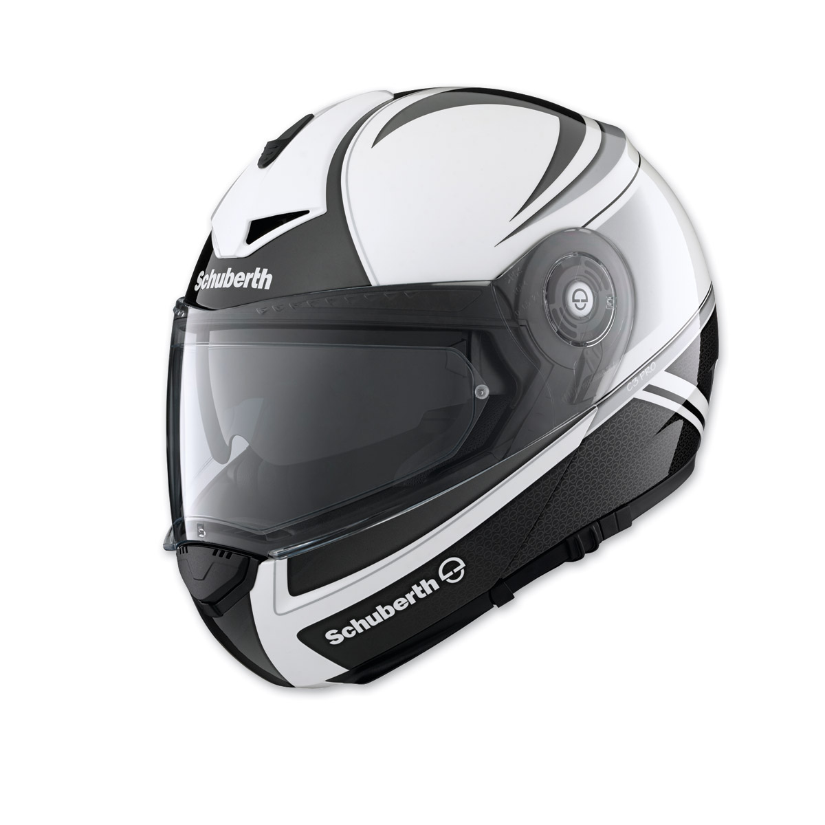 schuberth c3 pro classic silver modular helmet 804 898 j p cycles. Black Bedroom Furniture Sets. Home Design Ideas