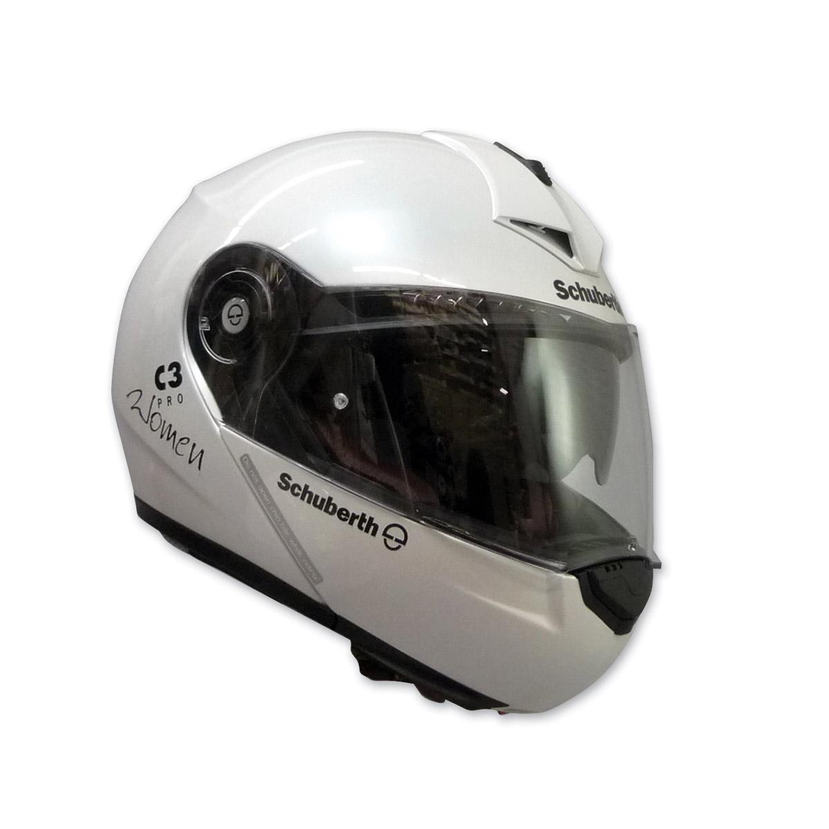 Schuberth C3 Pro Women's Glossy White Modular Helmet