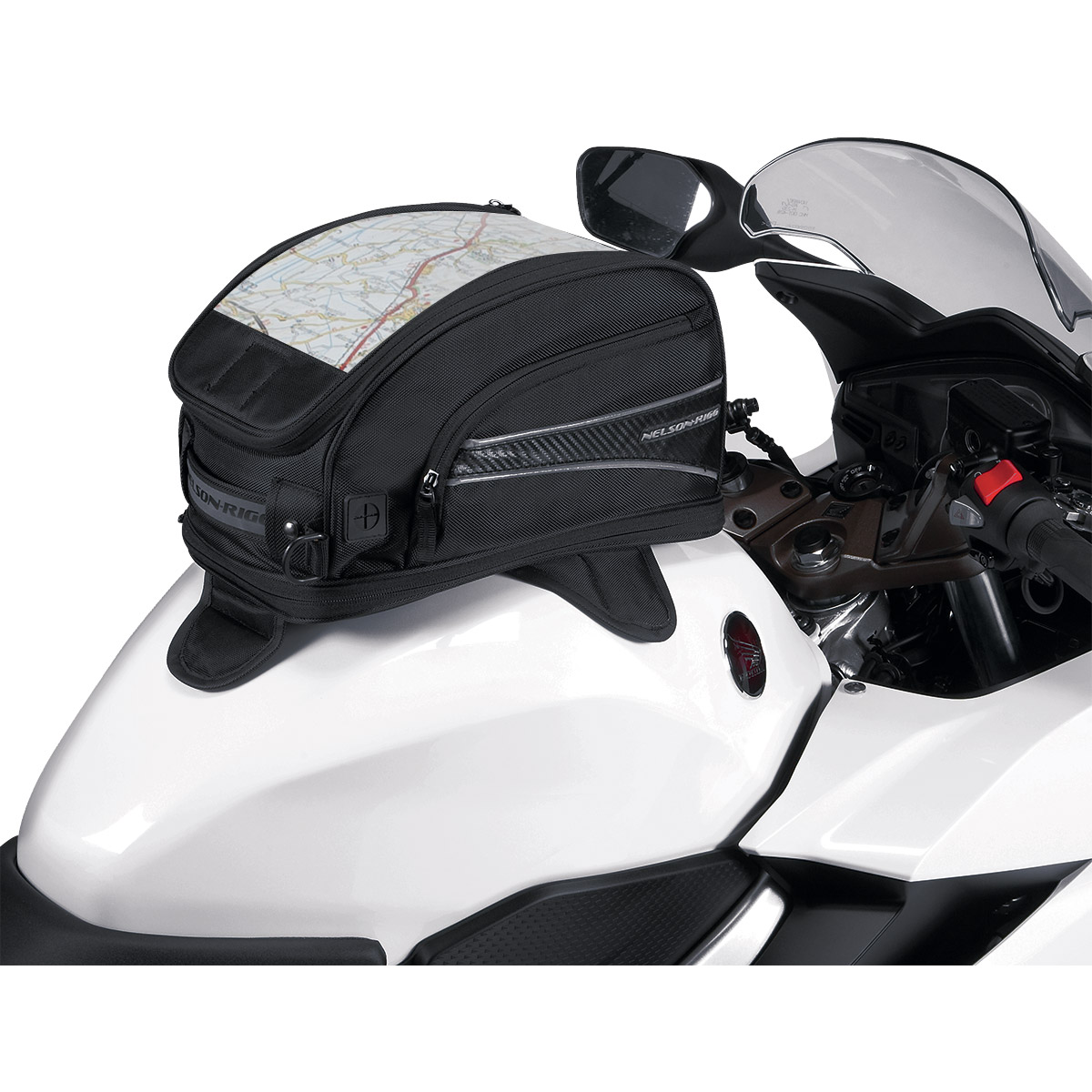 Nelson-Rigg Journey Mini Tank Bag with Magnetic Mount