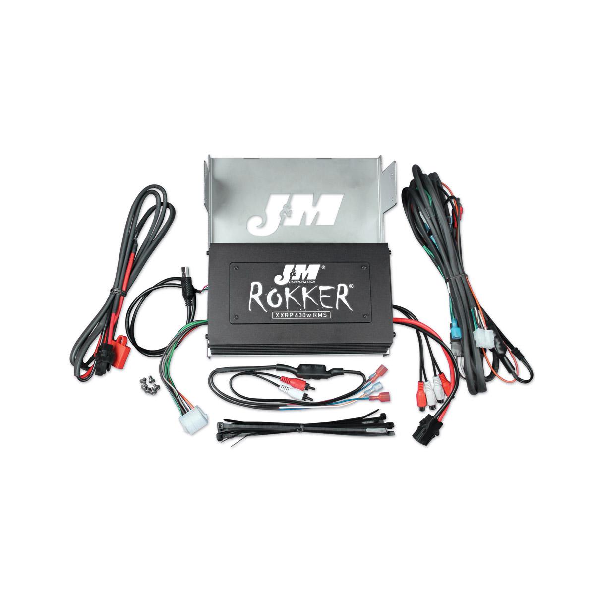 J&M ROKKER XXRP 630w 4-CH DSP Amplifier Kit