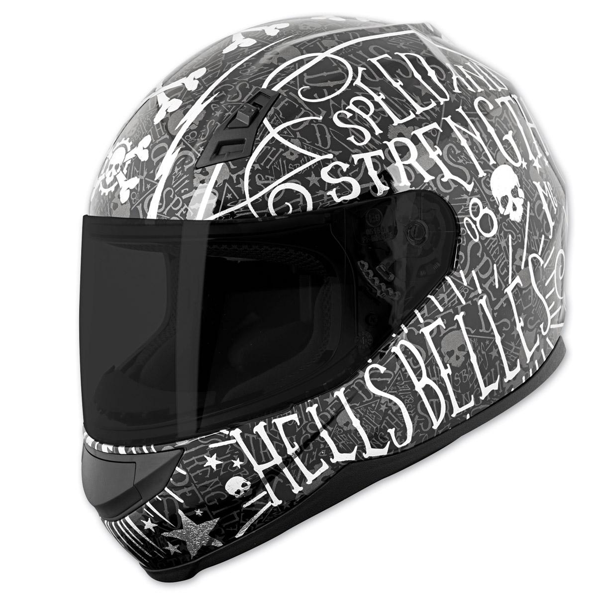 Speed and Strength SS700 Hell′s Belles Matte Black Full Face Helmet