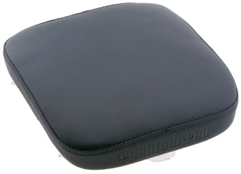 Phantom Pad Ghoul Passenger Seat,  Black Leather