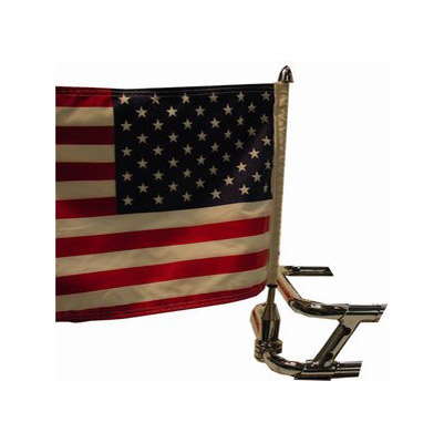 Pro Pad Saddlebag Bar Mount with 10″ x 15″ Flag