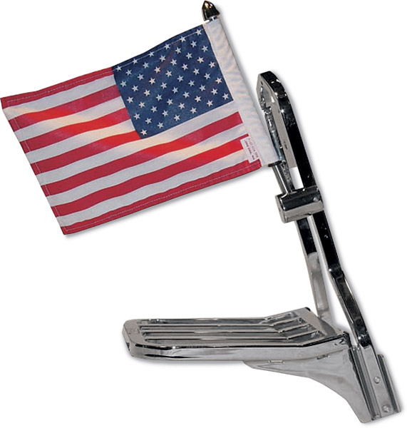 Pro Pad Side Mount with 10″ x 15″ Parade Flag