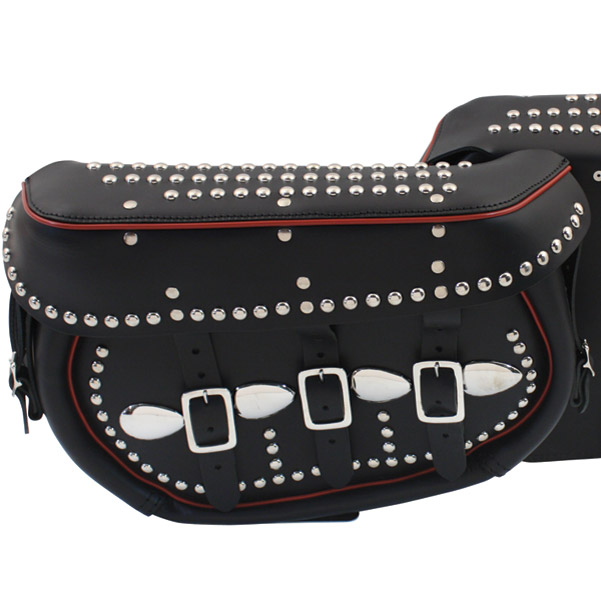 Black Trim Saddlebags