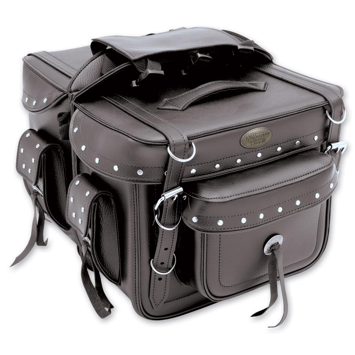 All American Rider Detachable Box-Style Saddlebags