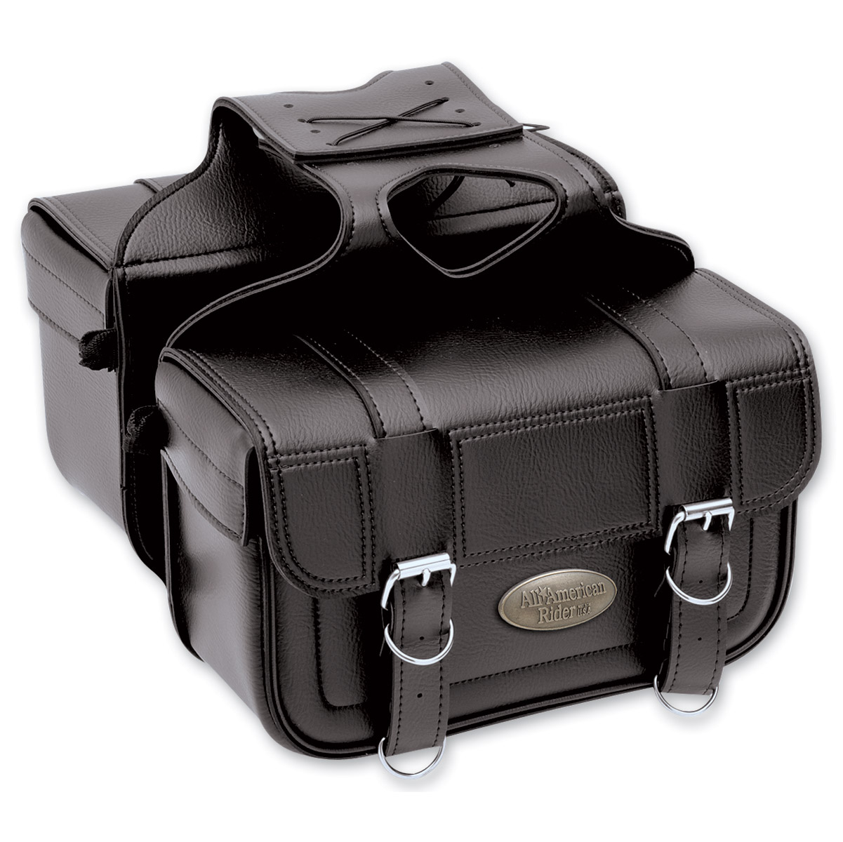 All American Rider Flap-Over Saddlebags