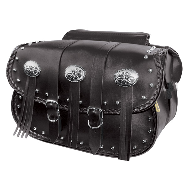 Willie & Max Warrior Collection Studded Saddlebags