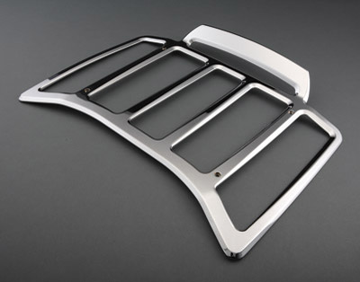 Chrome Billet Contour Rack