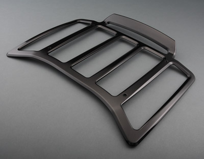 Black Billet Contour Rack