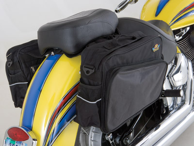 J&P Cycles® Nylon Saddlebag Set