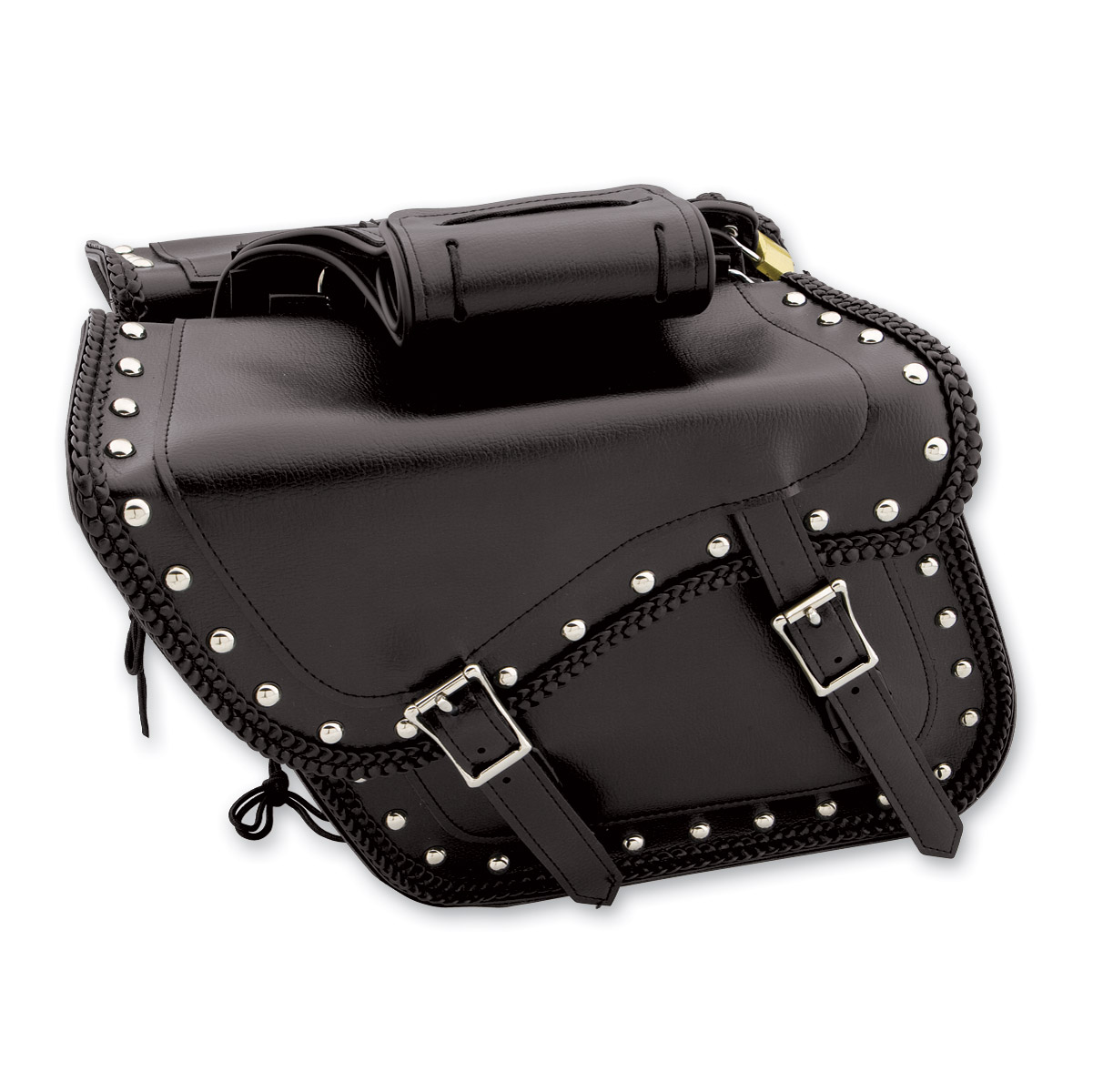 Dream Arel Saddlebag Accessory Studded Throwover Zip Off Saddlebags