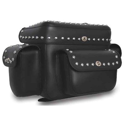 U.S. Saddlebag Co. Studded Trunk Bag