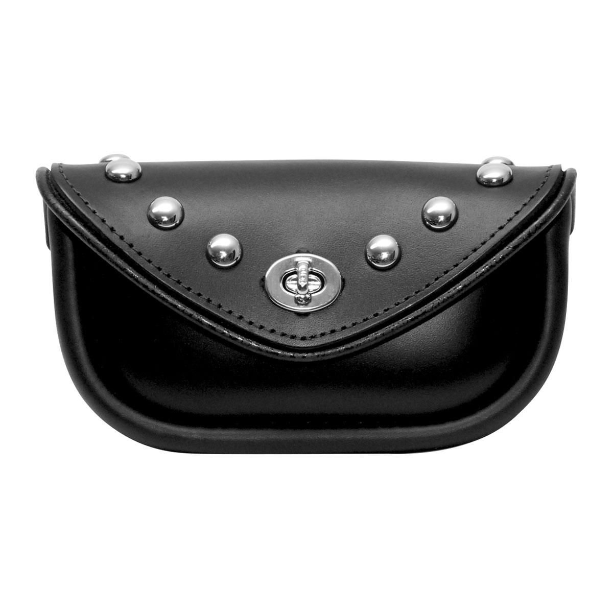 Leatherworks, Inc. Studded Handlebar Bag