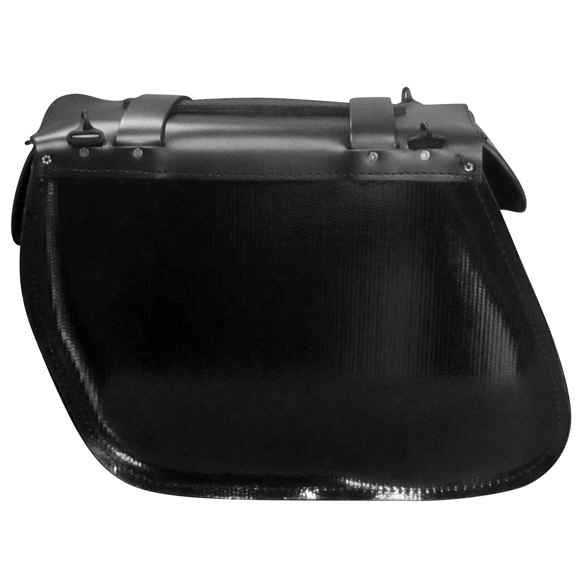 Leatherworks, Inc. Angle Split Lid Box Saddlebags