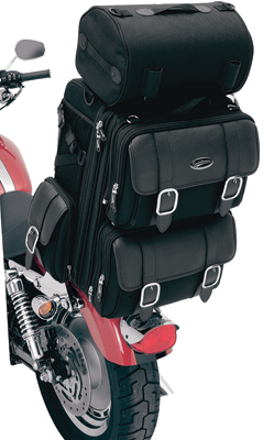 Saddlemen S3200DE Deluxe Sissy Bar Bag