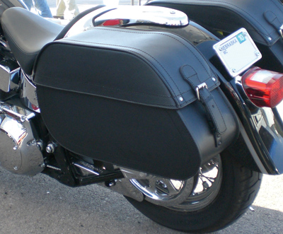 Edge Model 104 Plain Saddlebags by Kuryakyn
