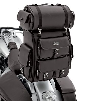 Saddlemen Plain Drifter Deluxe Sissy Bar Bag