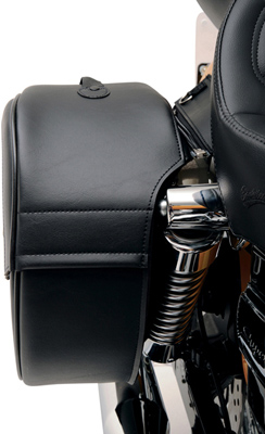 Saddlemen Desperado Rigid-Mount Teardrop Saddlebags for H-D Motorcycles