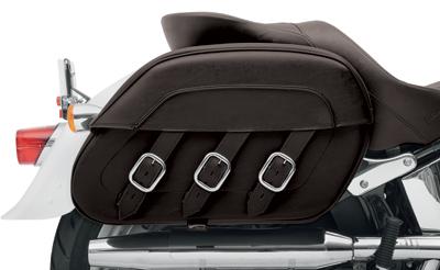 Saddlemen Drifter S4 Rigid-Mount Quick-Detach Slant Saddlebags for H-D Motorcycles