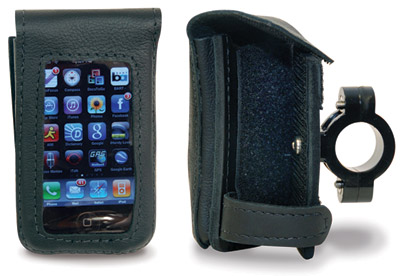 Leatherworks, Inc. iPhone Detachable Case for 1″ Handlebars