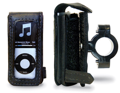 Leatherworks, Inc. iPod Detachable Case for 1″ Handlebars
