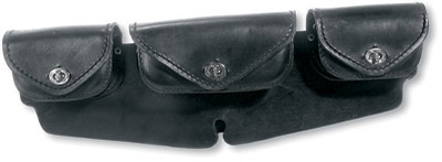 Carroll Leather FLHT Windshield Bag