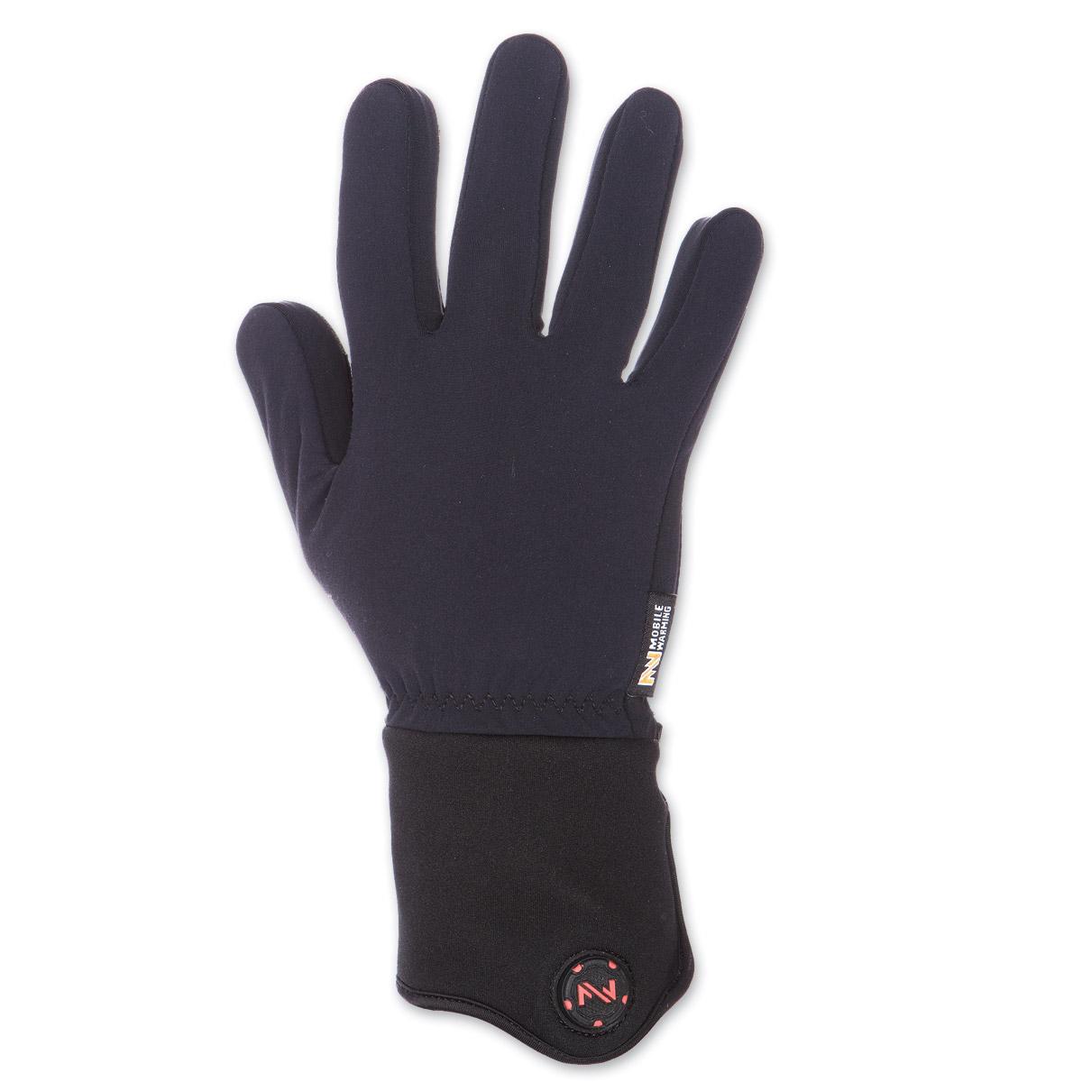 Mobile Warming Heated Black 12v Gloves Liner