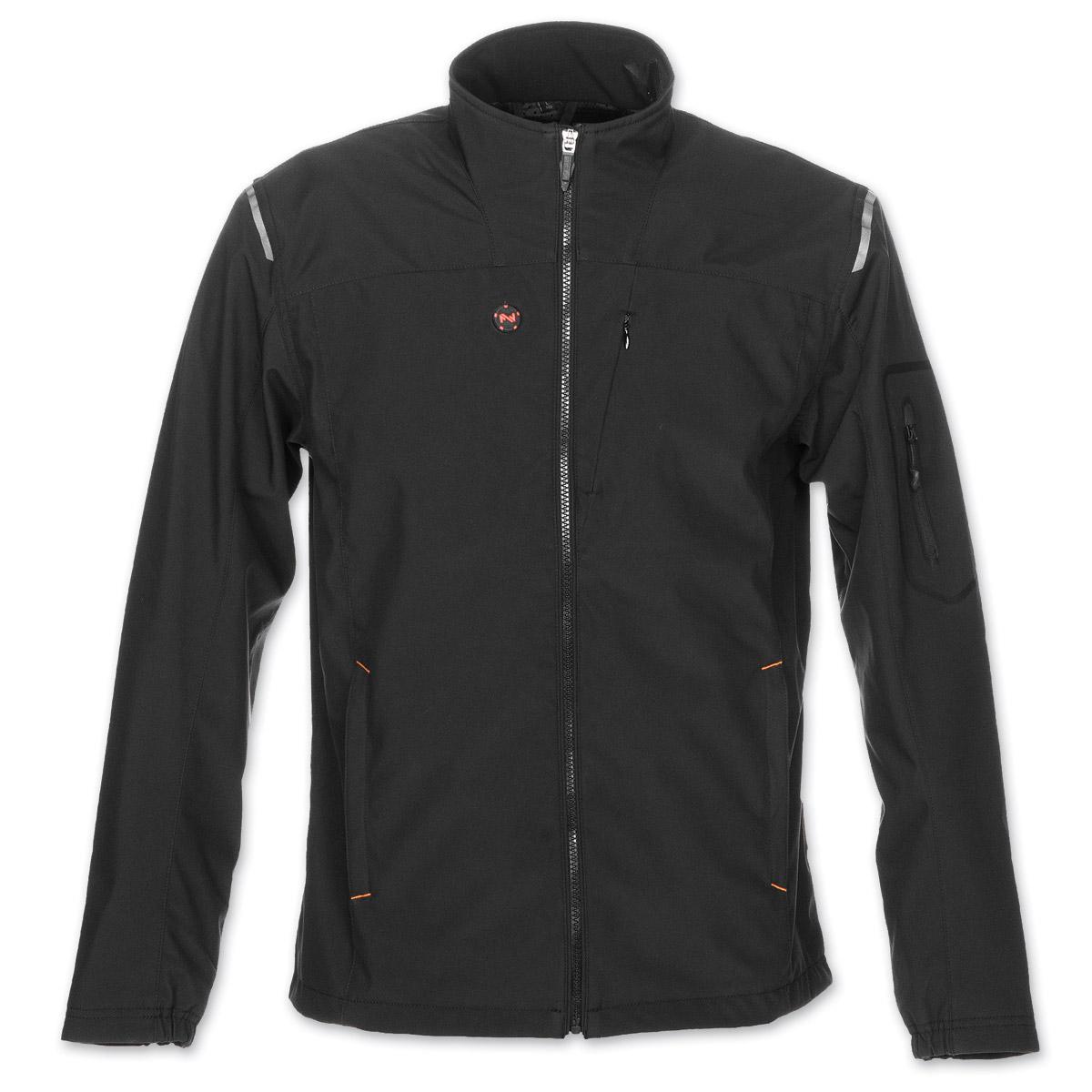 Mobile Warming Men's Alpine 7.4V Heated Black Jacket