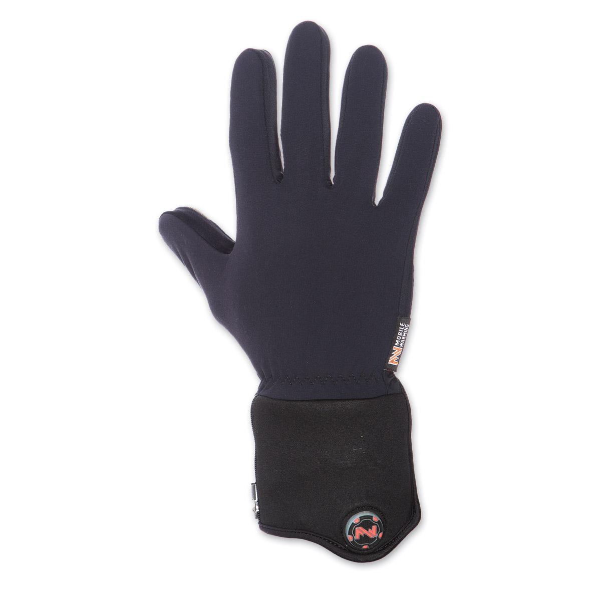 Mobile Warming 7.4V Heated Black Glove Liner