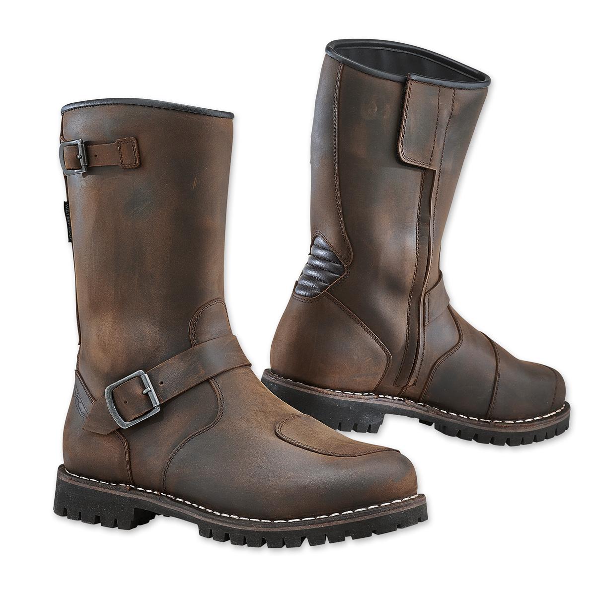 TCX Men's Fuel Waterproof Vintage Brown Boots