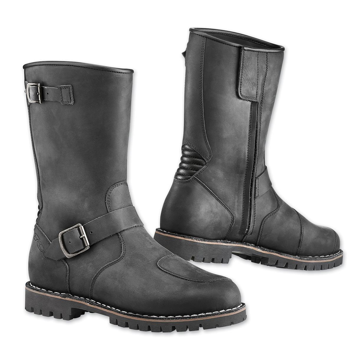 TCX Men's Fuel Waterproof Vintage Black Boots