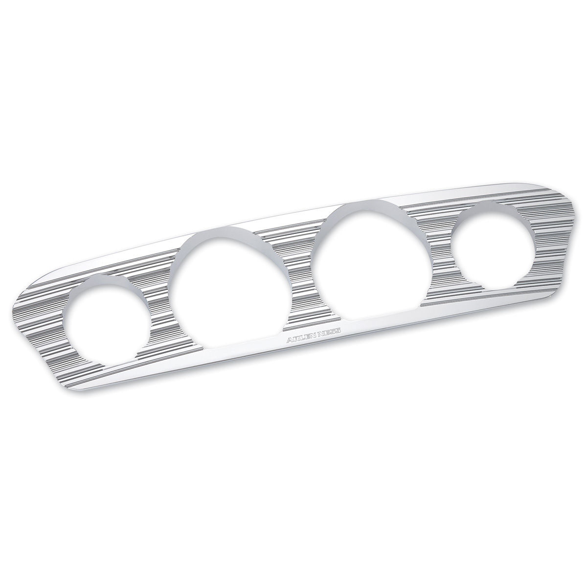 Arlen Ness 10 Gauge Chrome Inner Fairing Gauge Trim