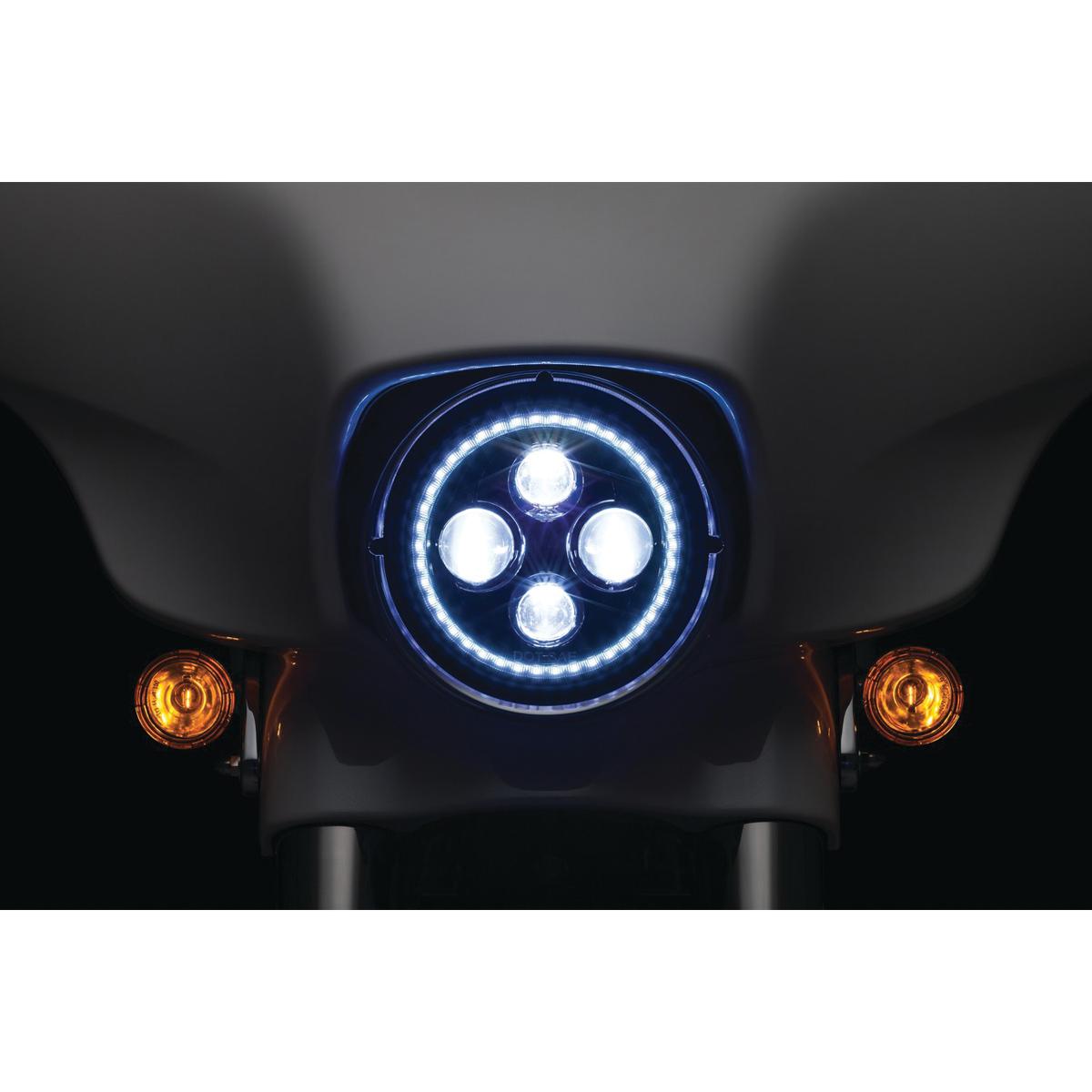 Kuryakyn 7″ LED Orbit Vision Headlight