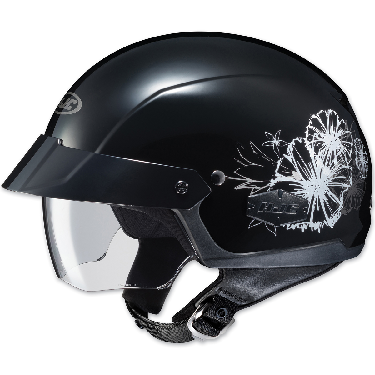 HJC IS-Cruiser Blush Black Half Helmet