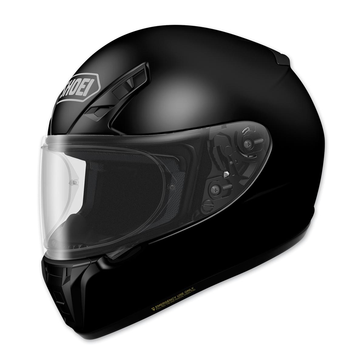Shoei RF-SR Solid Black Full Face Helmet