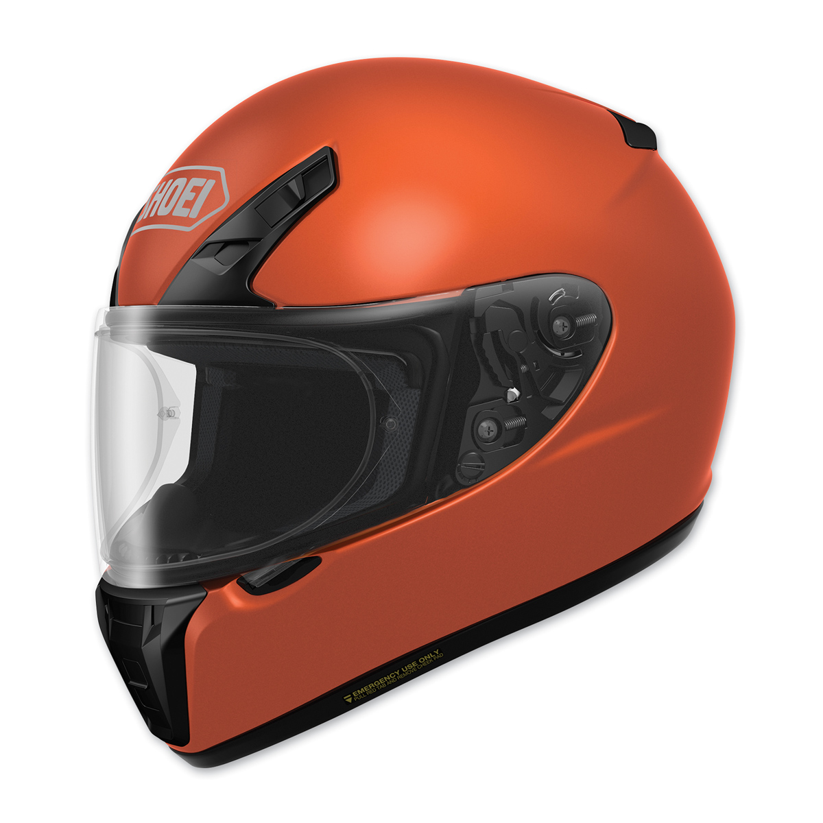 Shoei RF-SR Tangerine Orange Full Face Helmet